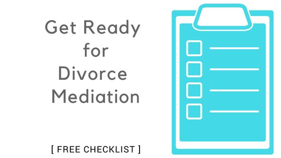 Get ready for divorce mediation a complete 30 item checklist solutioingenieria Choice Image