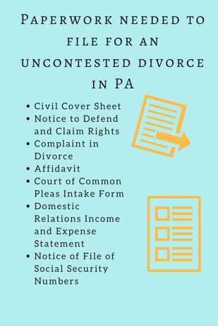 Uncontested divorce in pa reliable answers to 9 most important faqs paper work needed to file for divorce 2g solutioingenieria Images