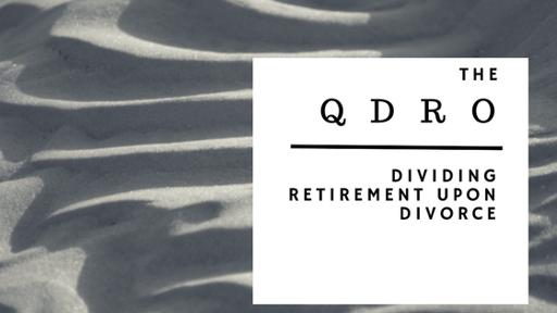 Where do i get a qdro form guide to dividing retirement upon divorce qdrog solutioingenieria Image collections