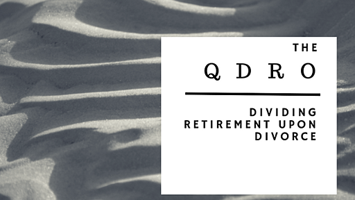 Where do i get a qdro form guide to dividing retirement upon divorce you are getting a divorce and you have been spending a good amount of time trying to figure out how you and your spouse will divide your assets solutioingenieria Images