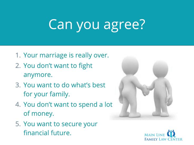 divorce mediation vs lawyer agree