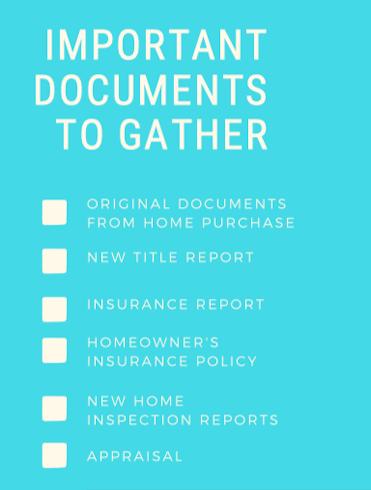 house-divorce-documents